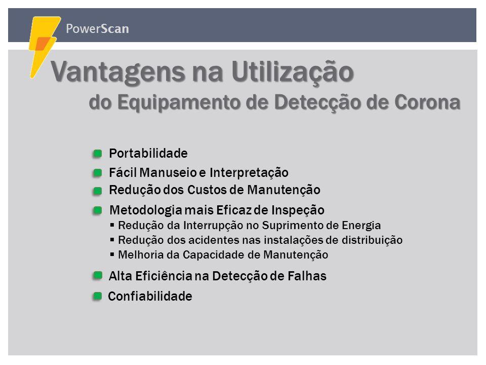 PowerScan Equipamento Integrado Portátil Equipamento Integrado Portátil Composto por dois tipos de sensores com as seguintes funções: