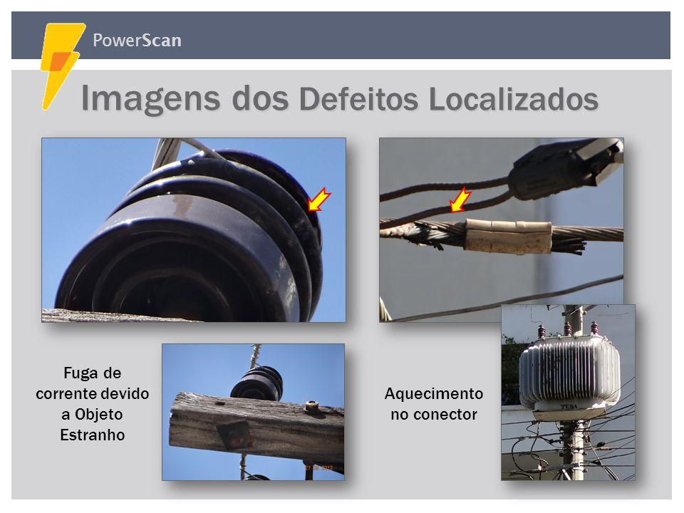 PowerScan Percentagem de Postes Defeituosos 2,85% Inspeções Realizadas no bairro Campo Belo situado na cidade de São Paulo com duração de aproximadame