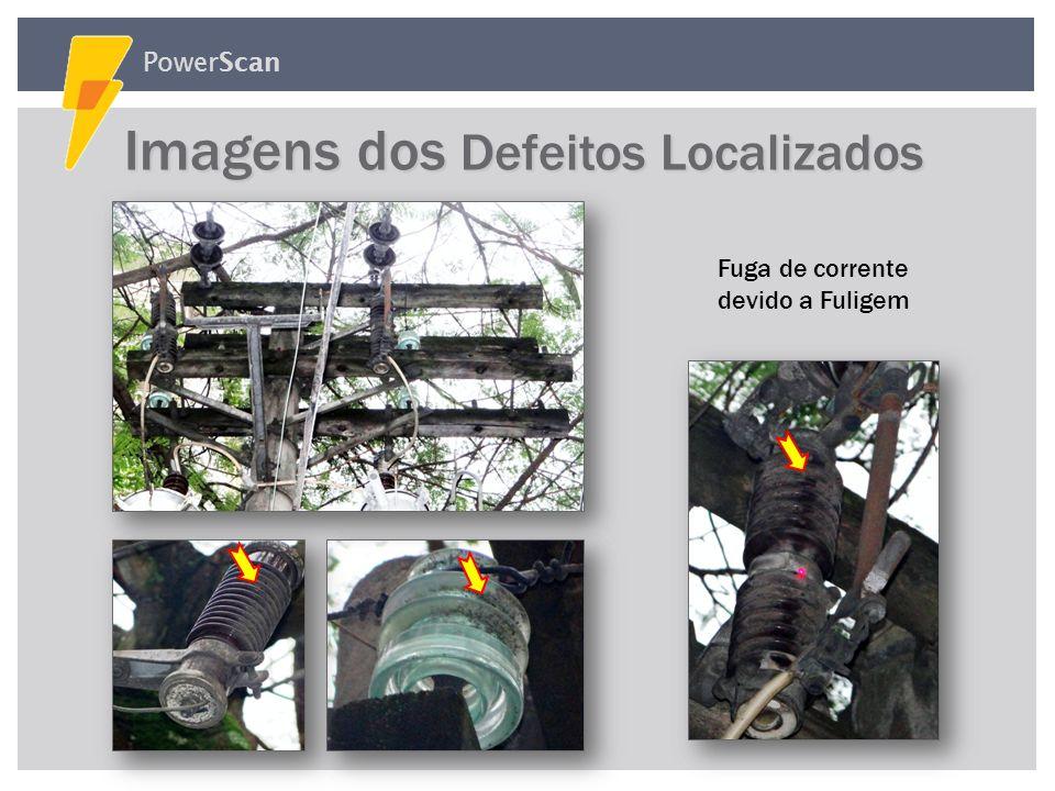 PowerScan Fuga de corrente devido a Trinca Aquecimento no Jumper devido ao Conector da Bucha solto Imagens dos Defeitos Localizados Imagens dos Defeit