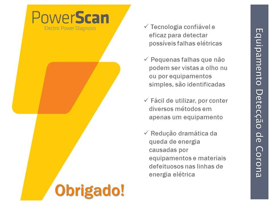 PowerScan Inspeções nas Ferrovias Inspeções nas Ferrovias..... Aquecimento na Linha de Suspensão devido ao contato com Arame Cabo de Média Tensão Defe