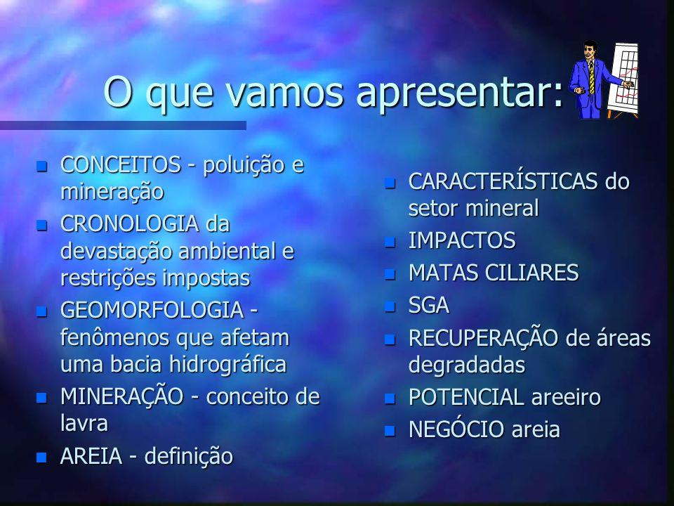 Rio Paraíba do Sul Degradação ambiental provocada pela mineração de areia José Eduardo Jendiroba Teixeira José Eduardo Jendiroba Teixeira Patrícia Car