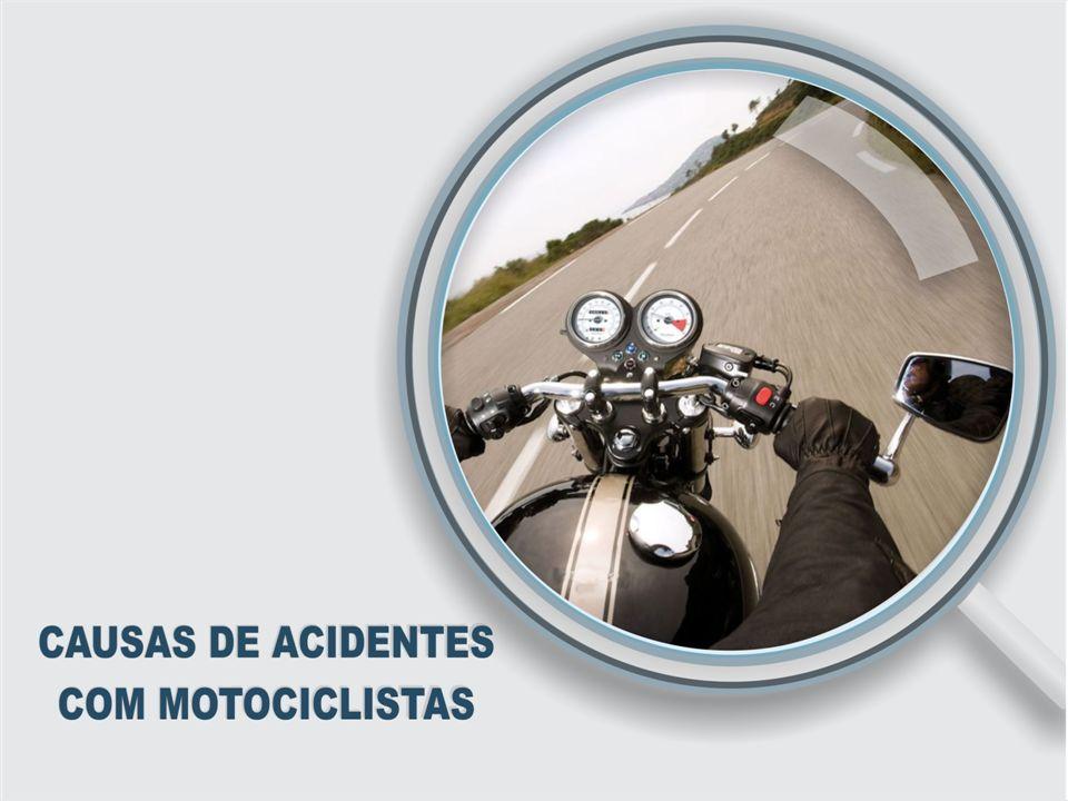 CULPA DIVIDE-SE IGUALMENTE ENTRE MOTORISTAS E MOTOCICLISTAS Participação como causador