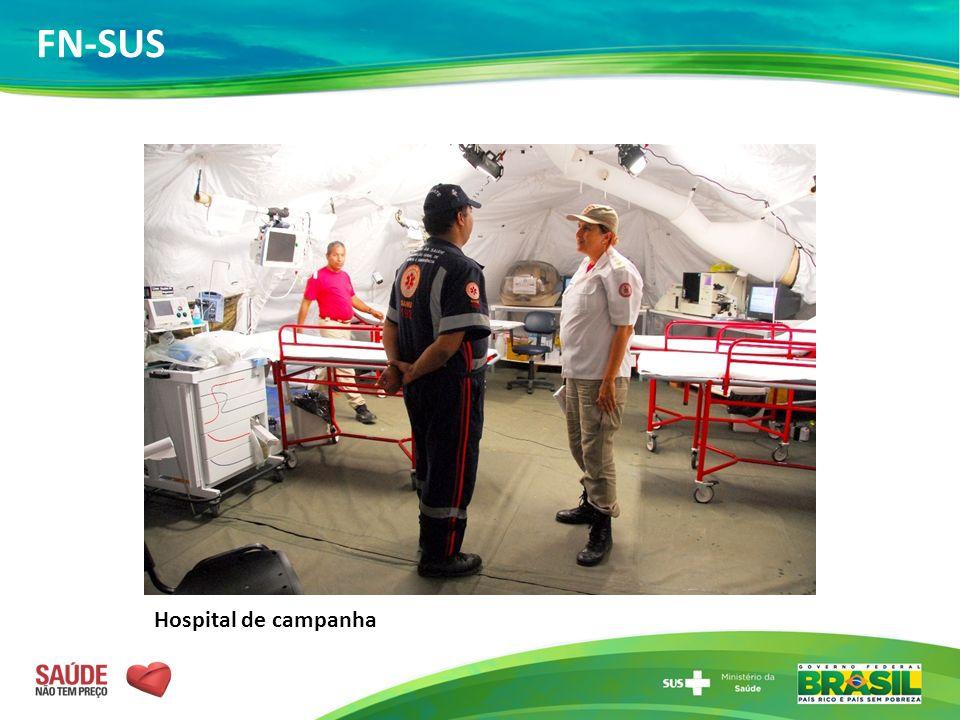 Hospital de campanha FN-SUS