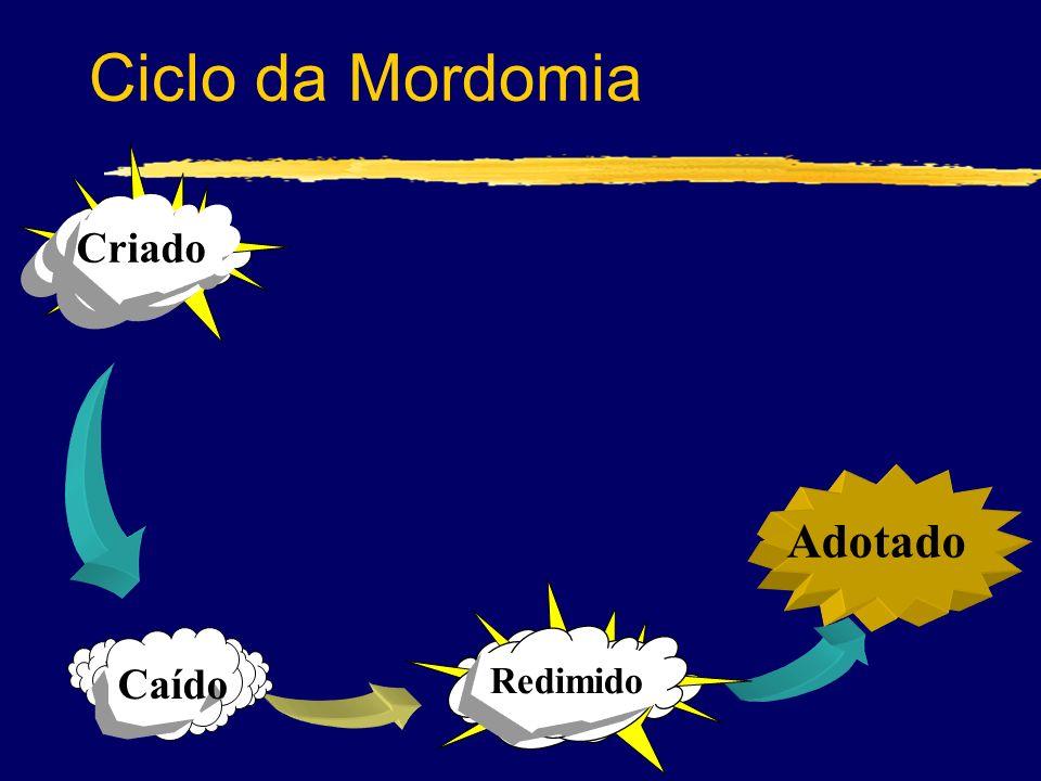 Adotado Redimido Ciclo da Mordomia Criado Caído