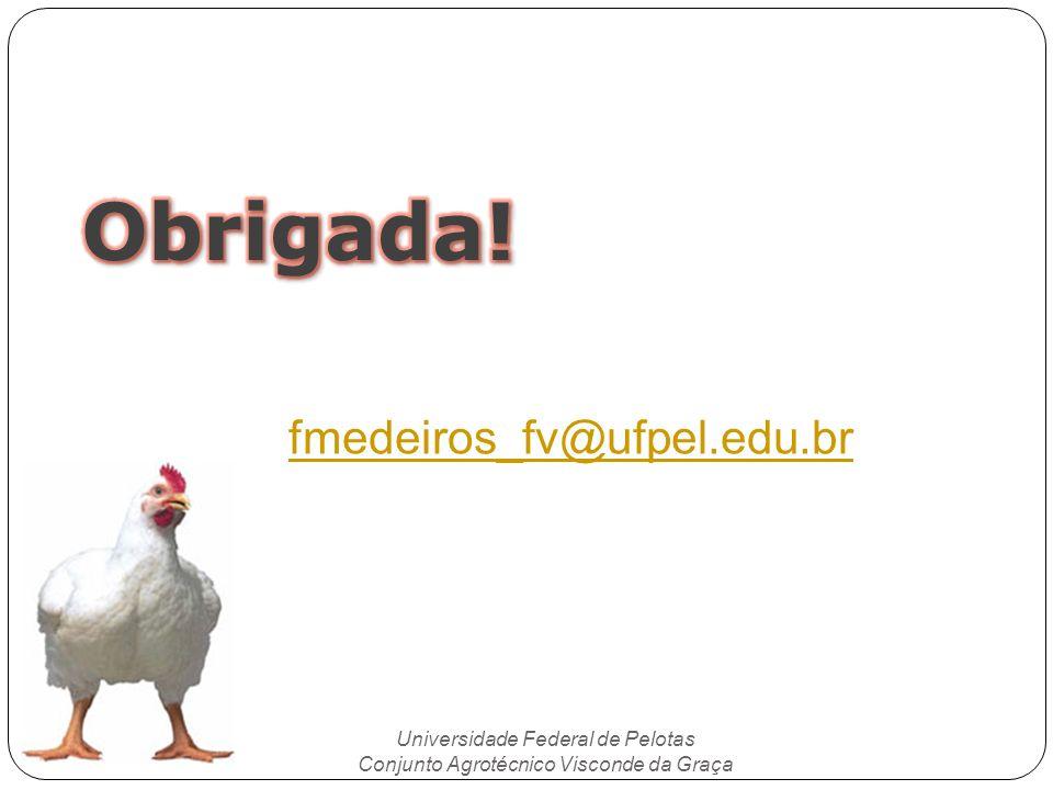 Universidade Federal de Pelotas Conjunto Agrotécnico Visconde da Graça fmedeiros_fv@ufpel.edu.br