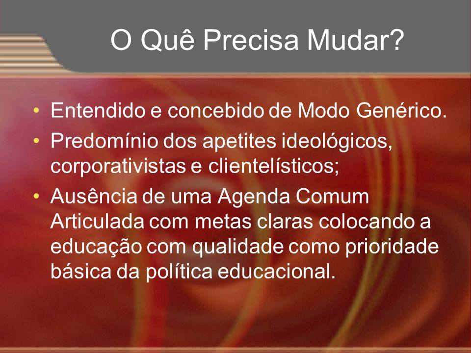 Principais Desafios Quadro Situacional a Partir do Triângulo de Governo do PES.