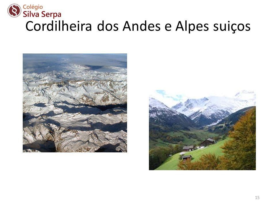 Cordilheira dos Andes e Alpes suiços 15