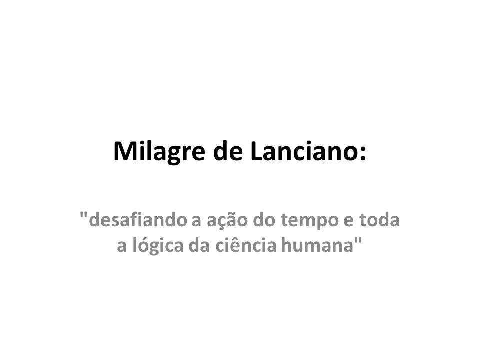 Milagre de Lanciano: