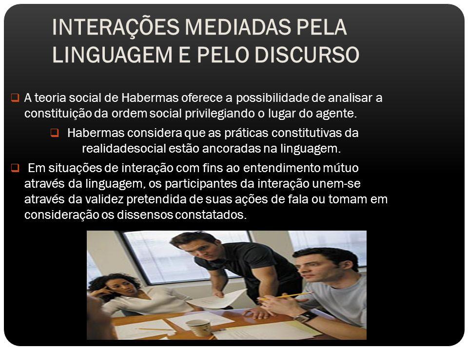 A comunicação com vistas ao entendimento mútuo pode acontecer no nível do discurso.