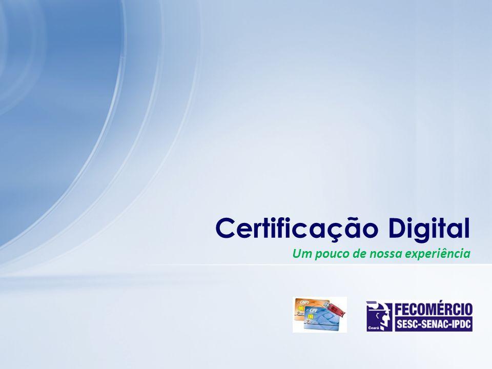 Certificação Digital Um pouco de nossa experiência Jesus cristo