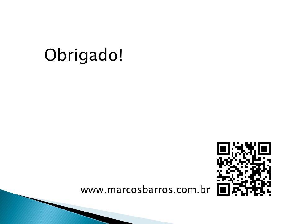 www.marcosbarros.com.br Obrigado!