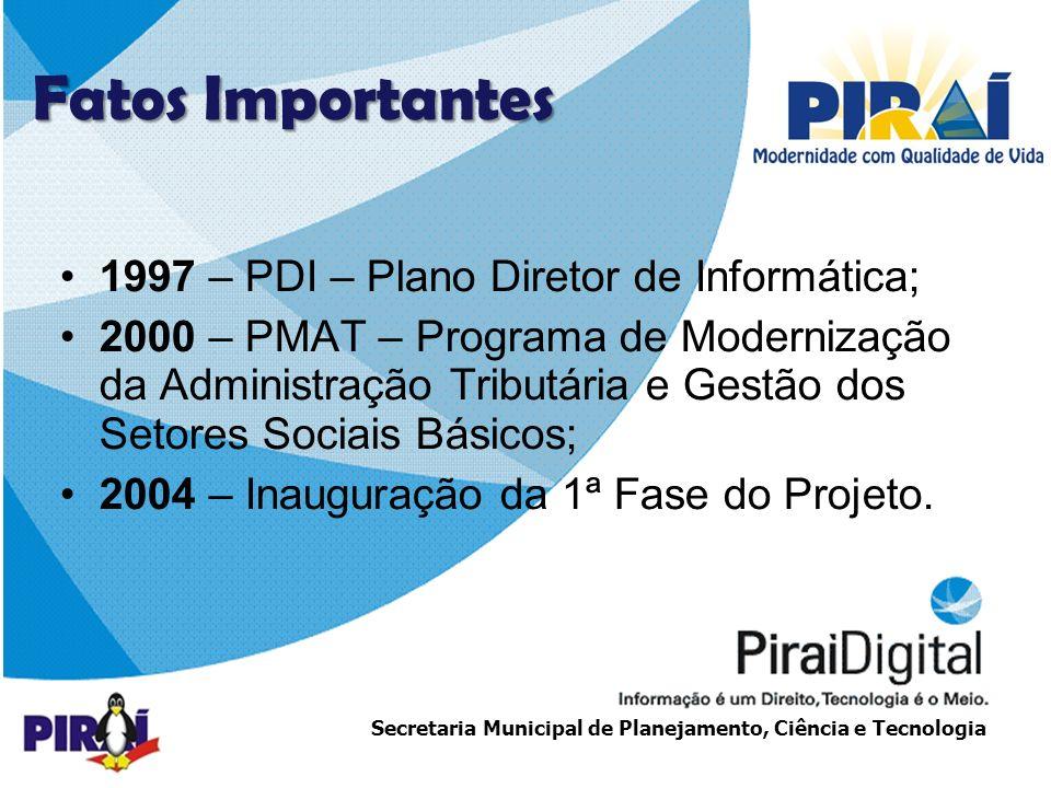 http://www.triadesolucoes.com.brE-mail: comercial@triadesolucoes.com.br Secretaria Municipal de Planejamento, Ciência e Tecnologia ESTRUTURA DE REDE