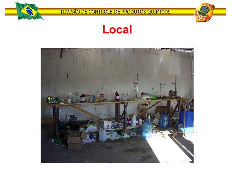 DIVISÃO DE CONTROLE DE PRODUTOS QUÍMICOS Local