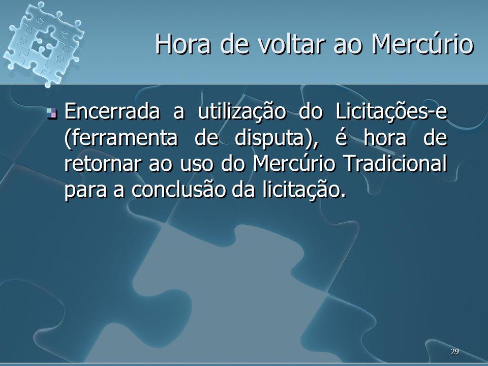 30 Providências para Implantação do Licitações-e na USP Alterações no Mercúrio Web (página inicial); Alterações no modelo de edital (Pareceres CJP 2453/2008 e 2981/2008 – RUSP).