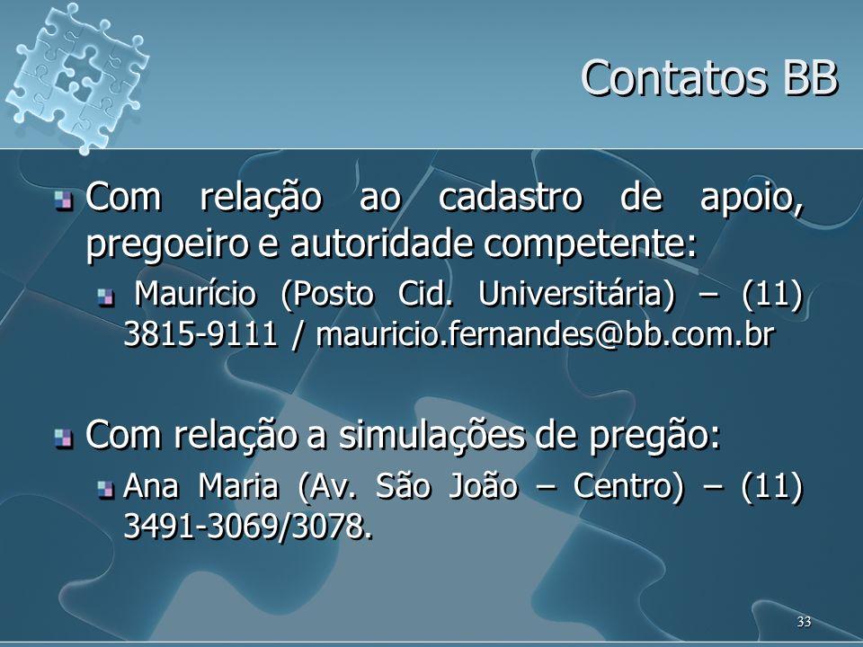 34 Sugestão de primeiro contato www.licitacoes-e.com.brwww.licitacoes-e.com.br – na tela principal acesse Introdução às Regras do Jogo.