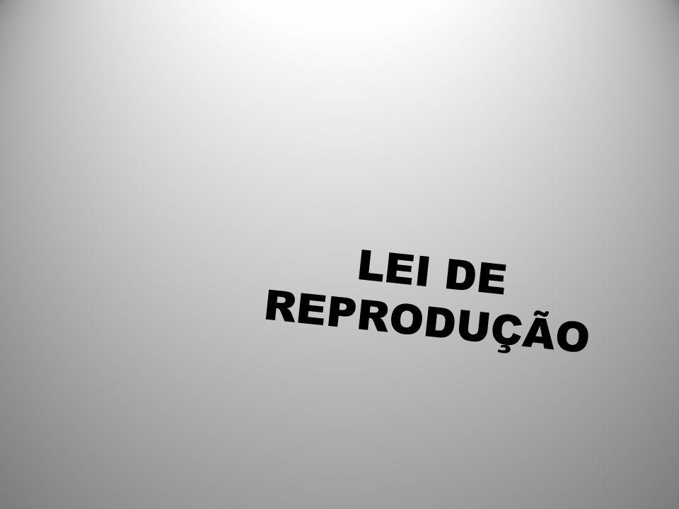 LEI DE REPRODUÇÃO