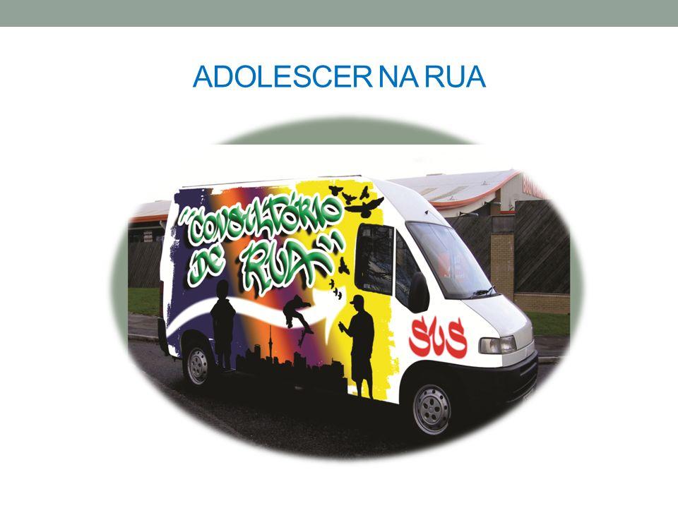 ADOLESCER NA RUA