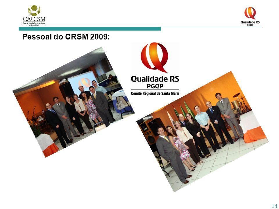 14 Pessoal do CRSM 2009: