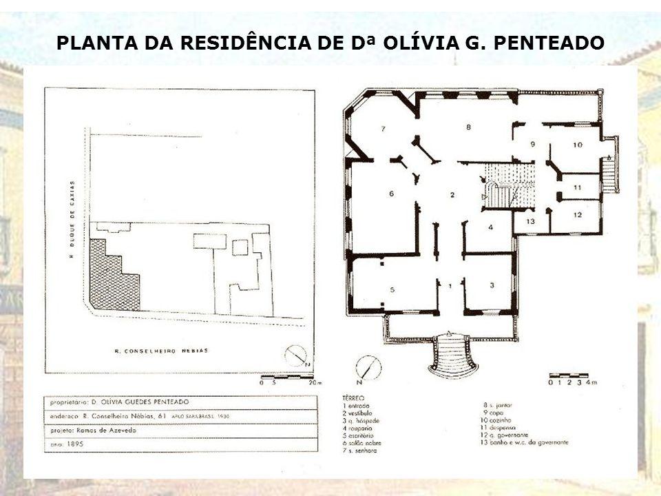 GARAGEM DA RESIDÊNCIA DE Dª OLÍVIA G. PENTEADO (C. Nébias x D. Caxias) – ANTIGA ESTREBARIA – DÉCADA DE 1920