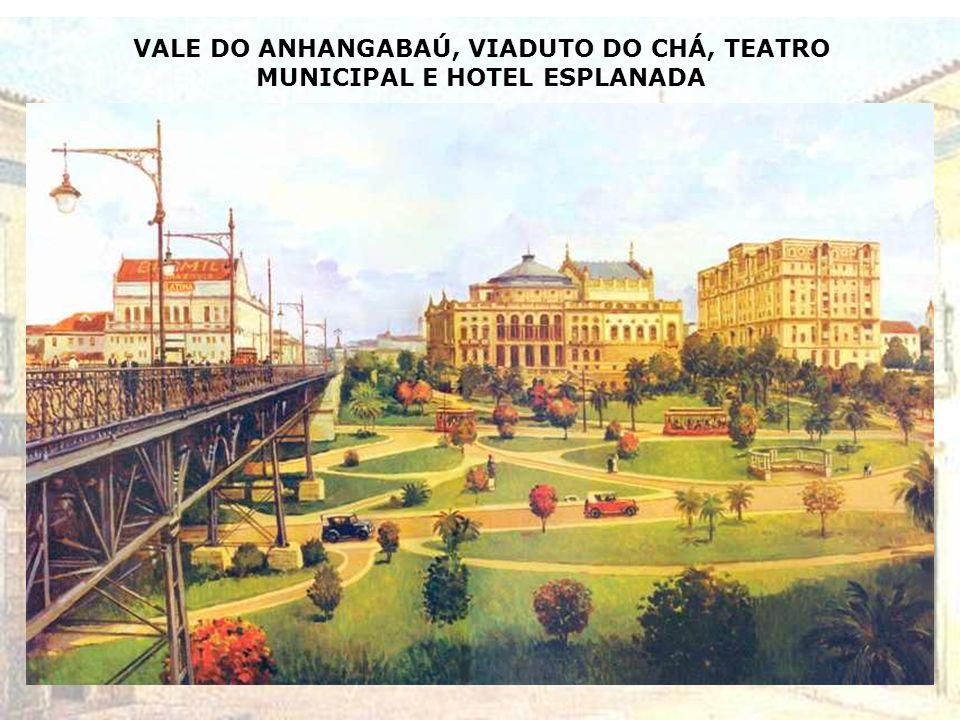 A N E X O Pinturas do artista baiano Henrique Passos retratando, com base em pesquisa iconográfica, aspectos da Cidade de São Paulo da primeira metade