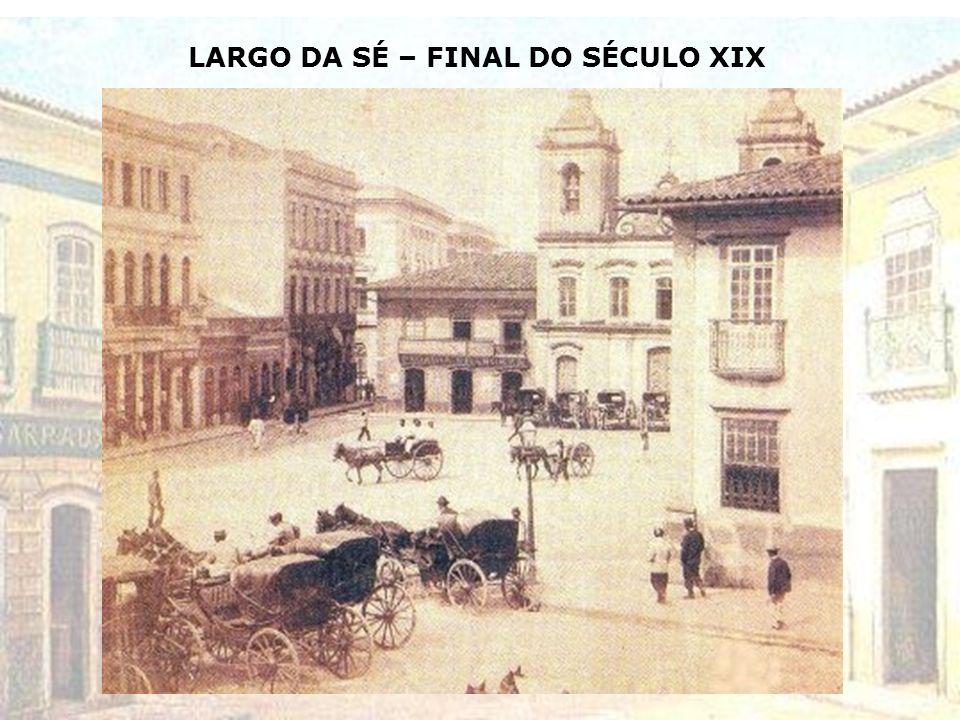 PLANTA DA CIDADE DE SÃO PAULO E SEUS ARRABALDES – 1890 População: 64.934 habitantes – zonas urbana e rural