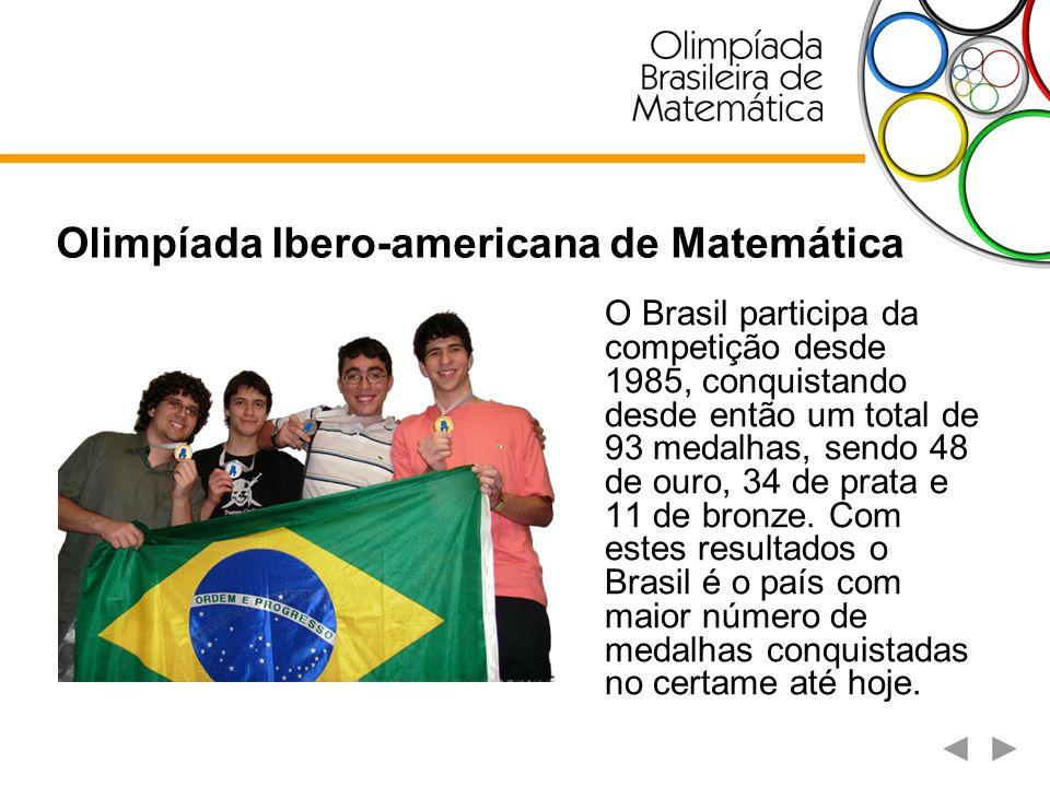 O Brasil participa da competição desde 1985, conquistando desde então um total de 93 medalhas, sendo 48 de ouro, 34 de prata e 11 de bronze. Com estes
