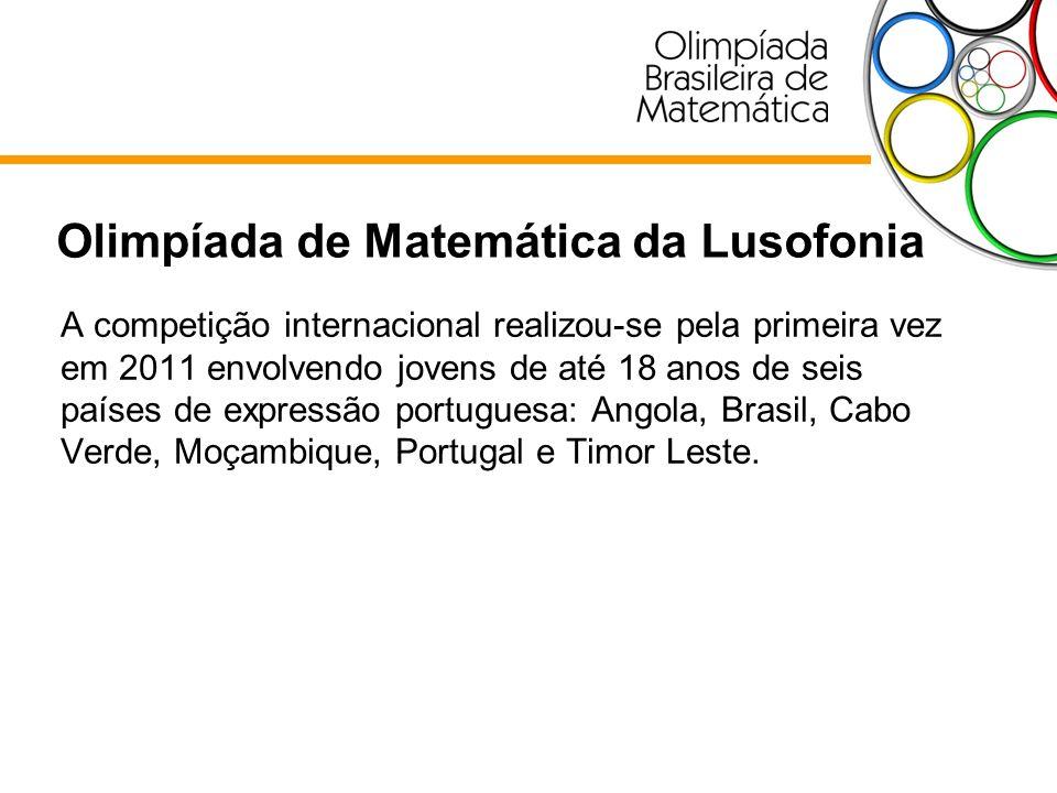 A competição internacional realizou-se pela primeira vez em 2011 envolvendo jovens de até 18 anos de seis países de expressão portuguesa: Angola, Bras