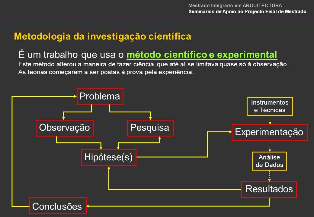 Exemplo Imagine-se no papel de investigador tendo como OBJECTIVO dar uma explicação para um fenómeno natural como, por exemplo, o arco-íris.