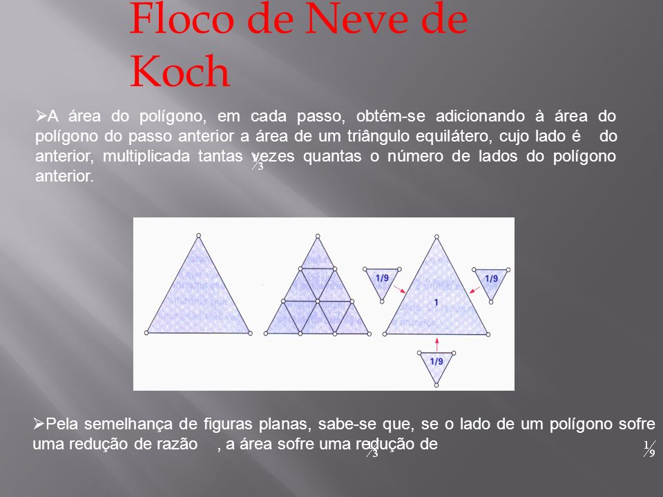 Floco de Neve de Koch....