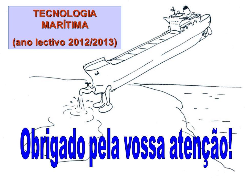 © Luis Filipe Baptista – ENIDH/DEM 115 TECNOLOGIA MARÍTIMA (ano lectivo 2012/2013)