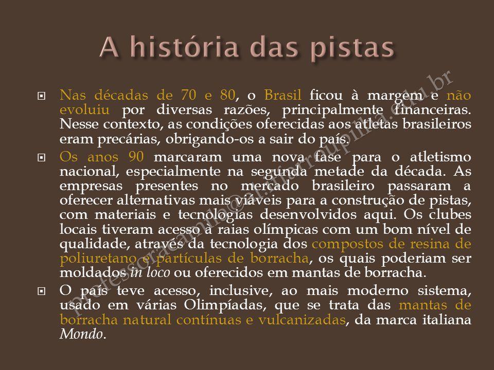 Nas décadas de 70 e 80, o Brasil ficou à margem e não evoluiu por diversas razões, principalmente financeiras. Nesse contexto, as condições oferecidas