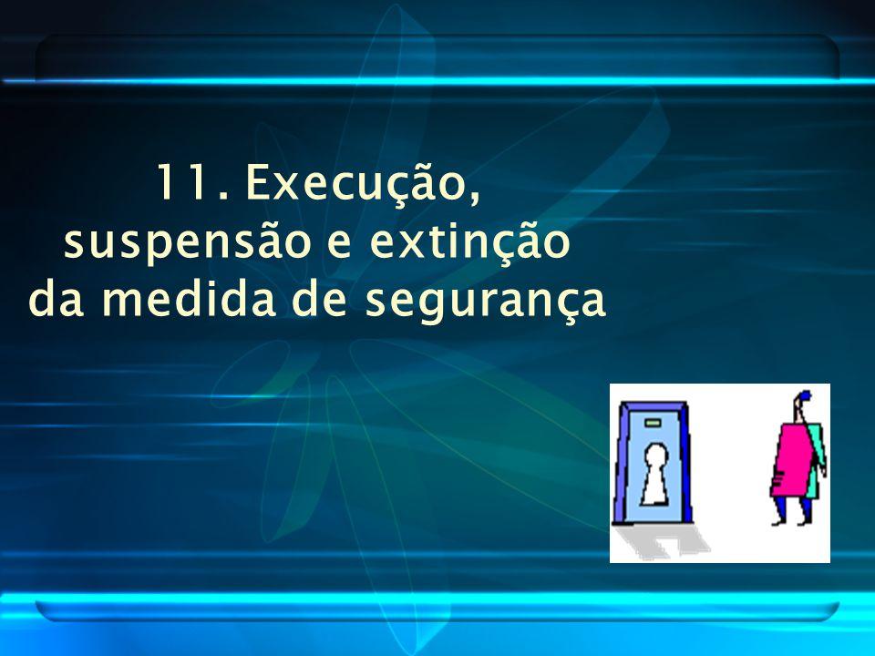 10. Prazo de duração da medida de segurança