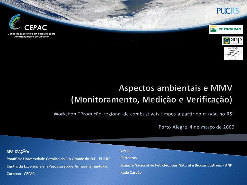 AGENDA 1.Potenciais impactos ambientais (positivos X negativos) das atividades de CBM, ECBM e UCG.