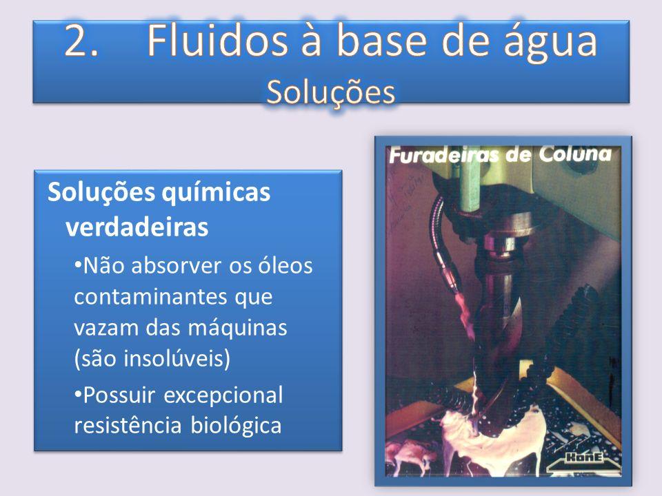 Função Geral: Os aditivos melhoram as propriedades inerentes aos fluidos ou lhes atribuem novas características.