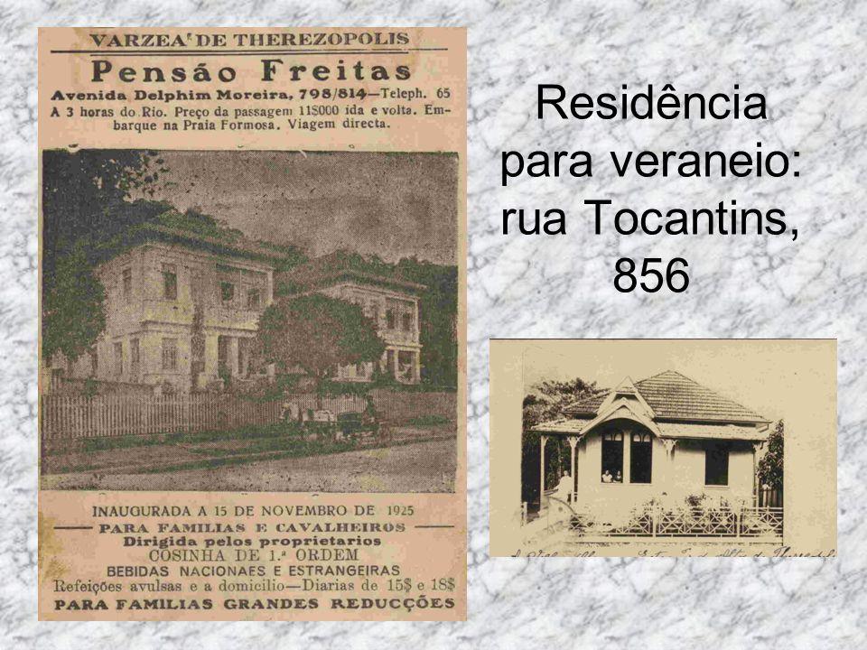 Residência para veraneio: rua Tocantins, 856