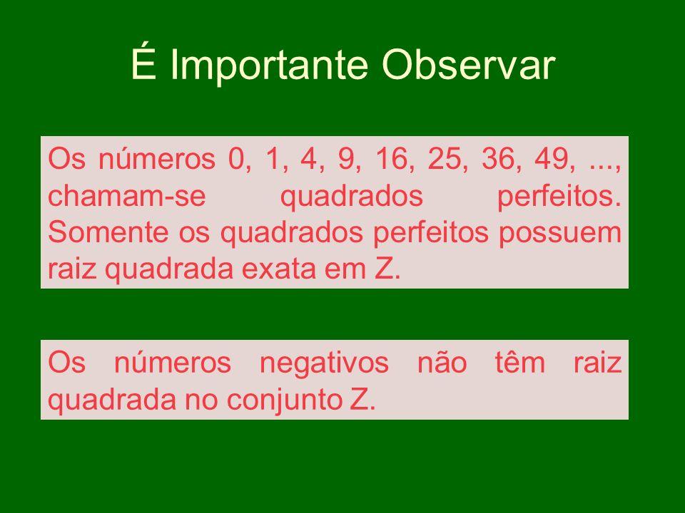 Tente Calcular x Veja como não é possível porque : O quadrado de um número é sempre positivo ou nulo.