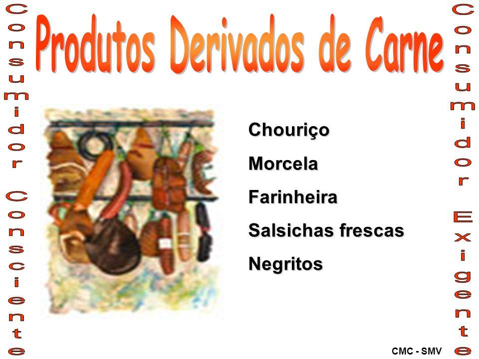 ChouriçoMorcelaFarinheira Salsichas frescas Negritos CMC - SMV