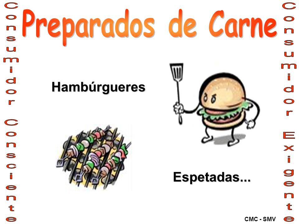 Hambúrgueres Espetadas...