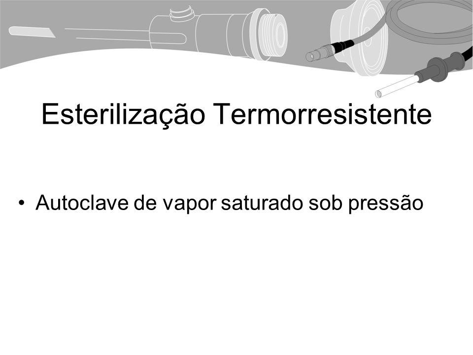 Esterilização Termorresistente Autoclave de vapor saturado sob pressão