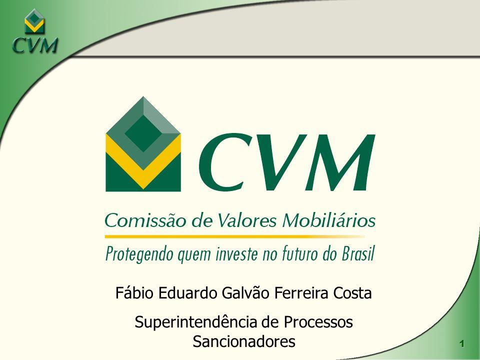 2 Esclarecimento Esclareço que, embora representando a CVM no presente evento, as opiniões que emitirei são de minha inteira responsabilidade, não refletindo, necessariamente, a opinião da CVM.