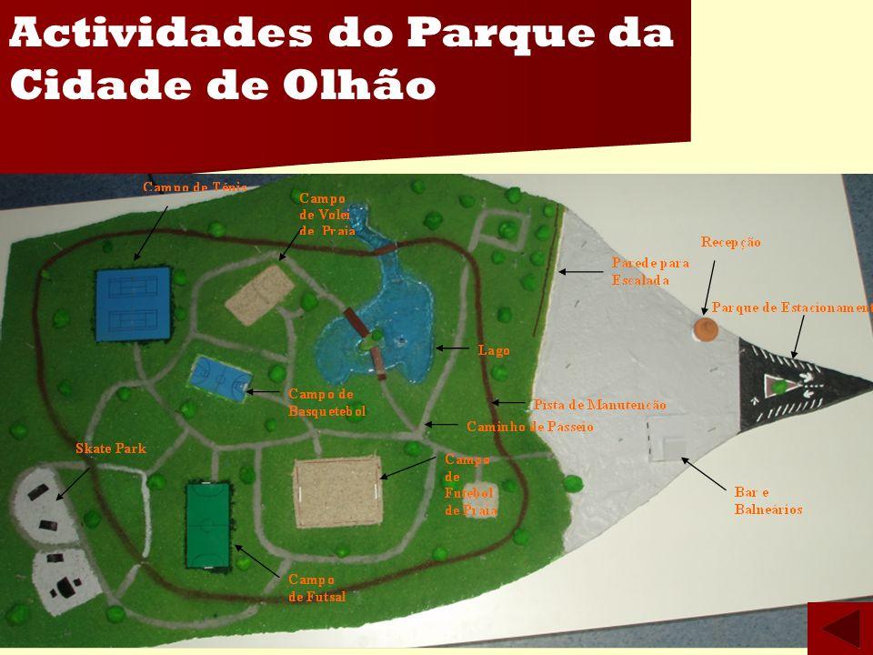 Actividades do Parque da Cidade de Olhão