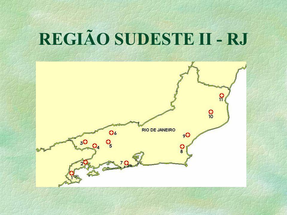 REGIÃO SUDESTE II - RJ