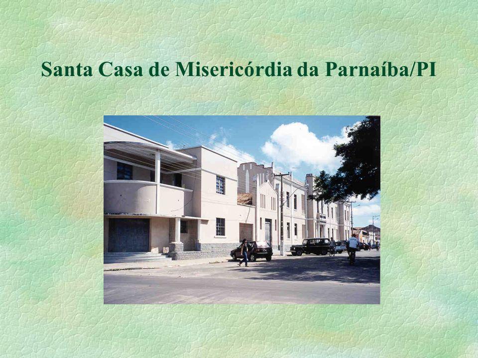 Estrutura Geral e Serviços das Santas Casas - HOSPITAL GERAL