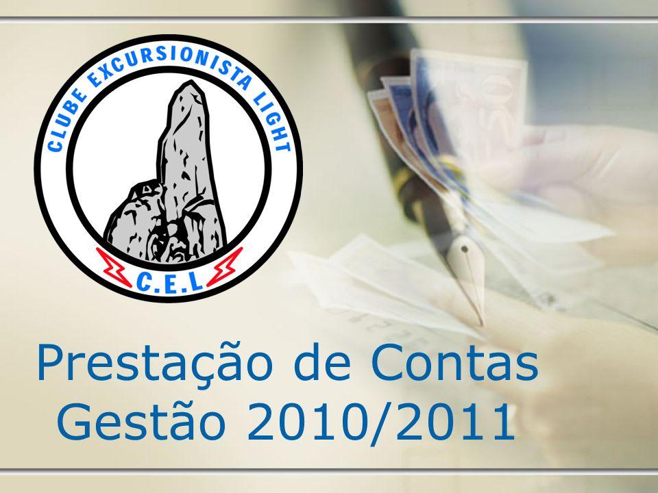 Prestação de Contas Gestão 2010/2011