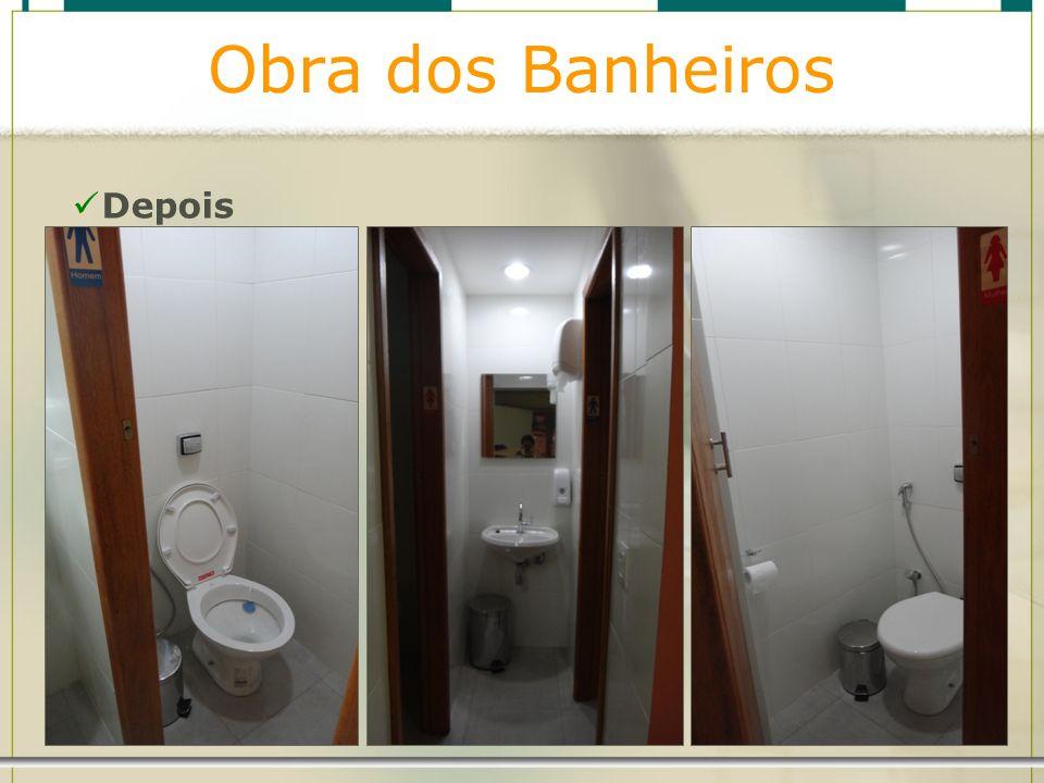 Obra dos Banheiros Depois