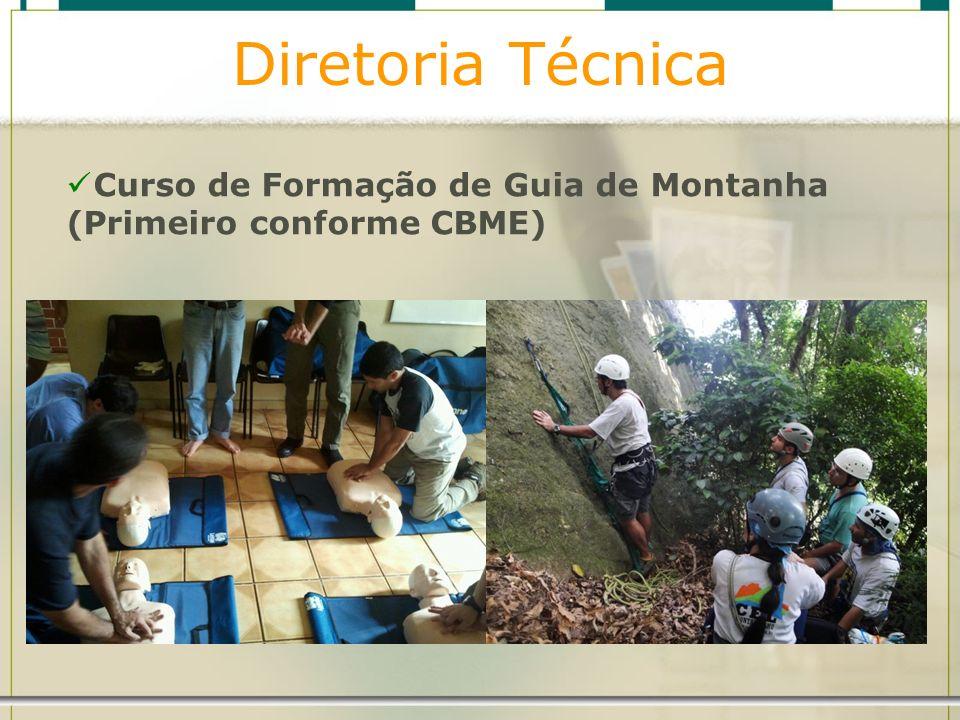 Diretoria Técnica Curso de Formação de Guia de Montanha (Primeiro conforme CBME)
