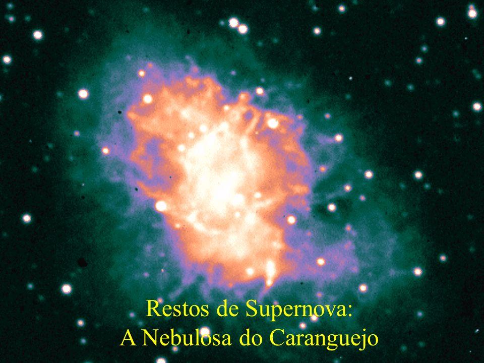 Restos de Supernova: A Nebulosa do Caranguejo