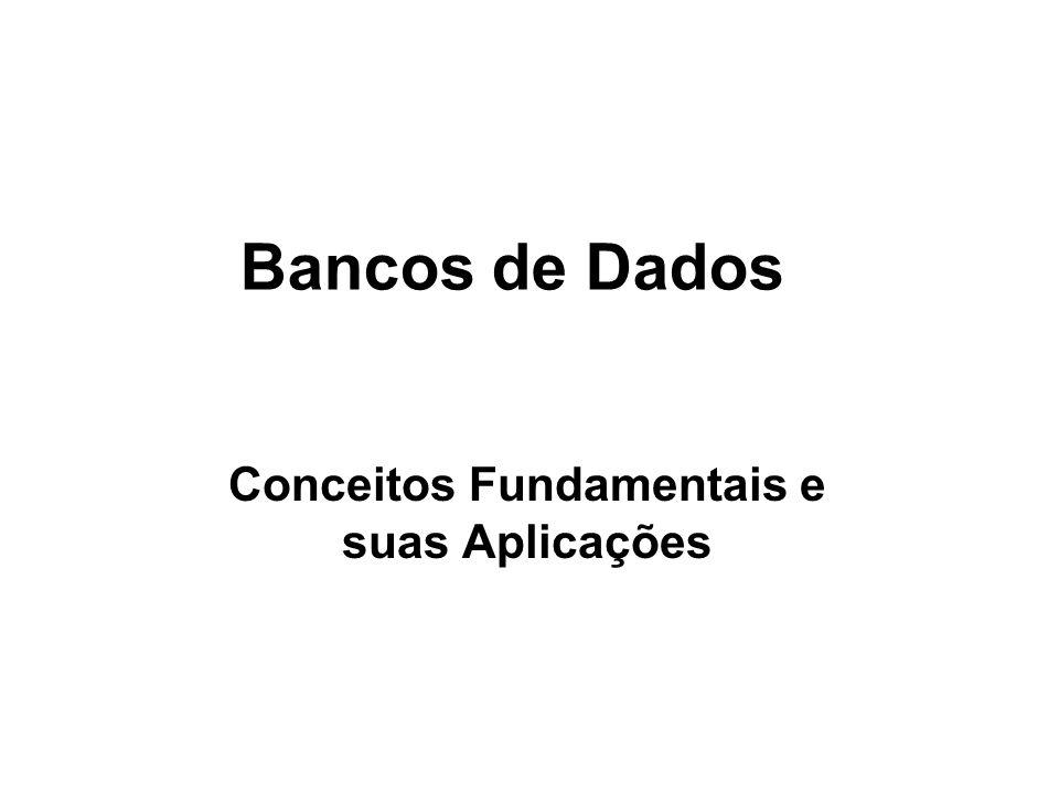 Sistema Gerenciador de Banco de Dados São softwares que permitem a definição de estruturas para armazenamento de informações e fornecimento de mecanismos para manipulá-las.