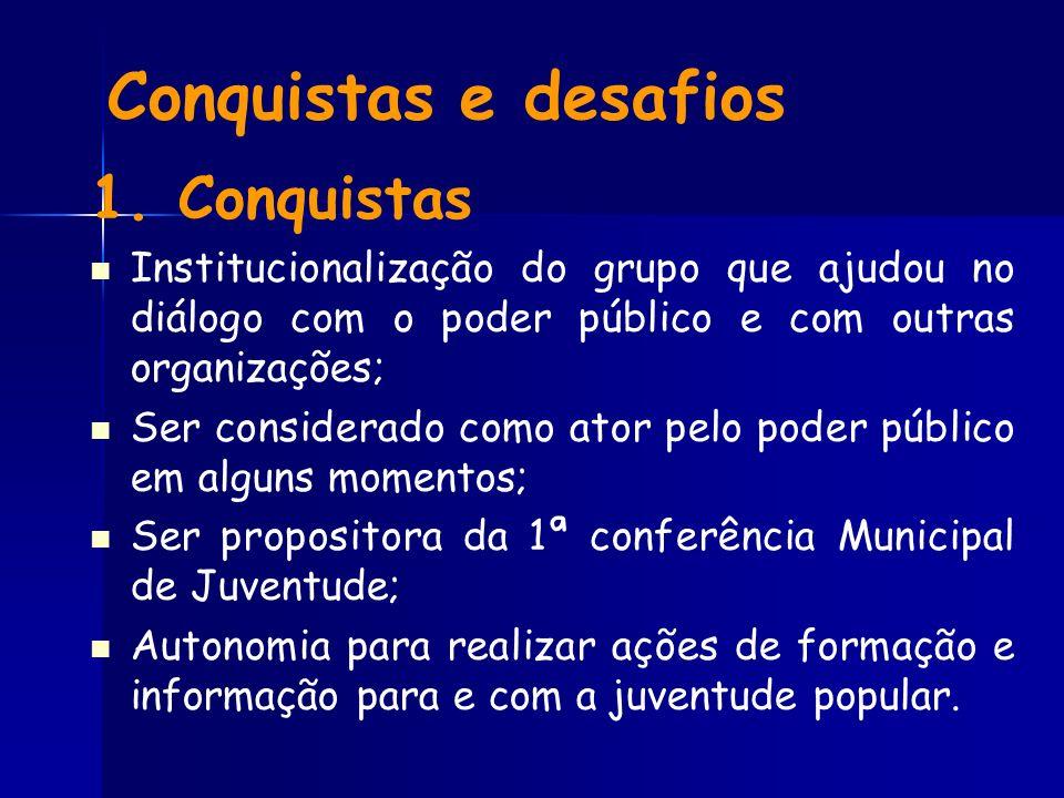 Conquistas e desafios 1.