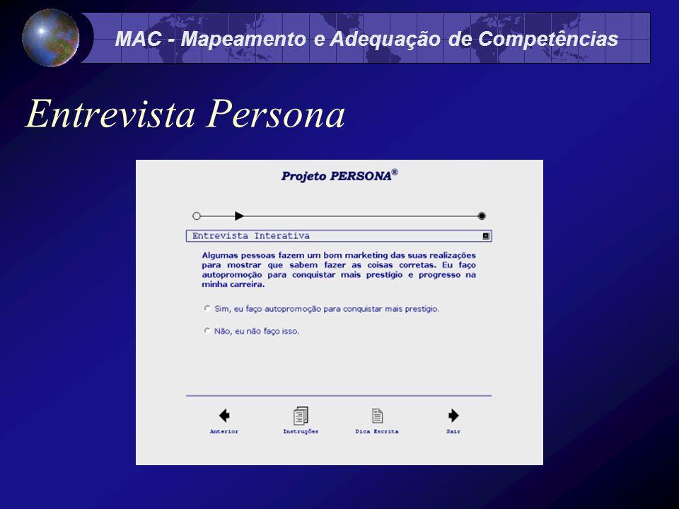 MAC - Mapeamento e Adequação de Competências Entrevista Persona